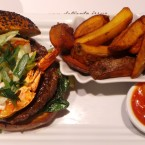 Surf 'n' Turf Burger mit Steak-Fries - said the butcher to the cow - Wien