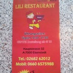 LiLi-Flyer - China-Restaurant Asia - Eisenstadt