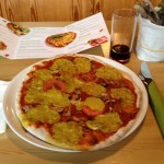 Kamut-Dinkel Pizza Margherita - Delicious - Klagenfurt