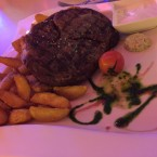 Ribeye mit wedges - Clocktower American Bar & Grill - Wien-Süd - Brunn am Gebirge