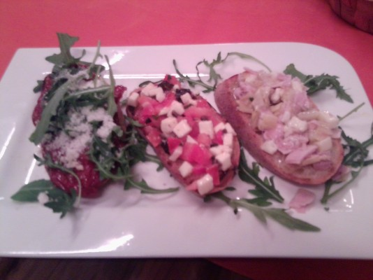 Dellago - Bruschetta-Variation - Dellago - Wien