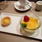 Orangen-Panna-Cotta im Glas - Cafe Bar Bloom - Wien