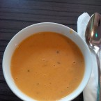 Honigmelonensuppe - New Point Restaurant - Wien