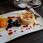 Panna Cotta - New Point Restaurant - Wien