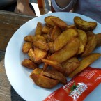 Potatoe Wedges - Estancia Santa Cruz - Wien