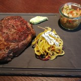 Rib Eye Steak 300 Gramm  01/2019 - Santos Mexican Grill & Bar Neubau - Wien
