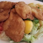 Backhendelsalat - Cafe-Restaurant Weimar - Wien