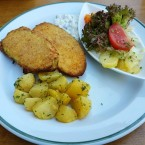 Zucchini Cordon Bleu - Jausenstation Fam Reischer - Furth an der Triesting